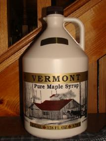 Cliff Haven Farm maple syrup